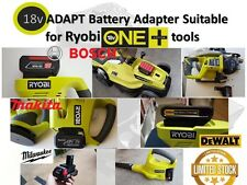 18v ADAPT Makita,Bosch Blue,Dewalt,Milwaukee Battery adapter to Ryobi one+18v