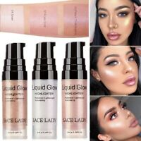 Shimmer Liquid Highlighter Illuminator Face Contour Makeup Brightener Concealer