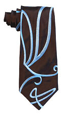 DOCTOR WHO Style Embroidered Swirly Tie by Magnoli Clothiers
