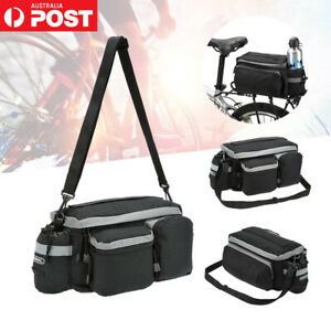 Bicycle Bag Cycling Pannier Rear Seat Bag Rack Trunk Bike Seat Shoulder Handbag