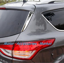 New Chrome Rear Window Side Cover Moulding Trim For Ford Kuga Escape 2013-2018