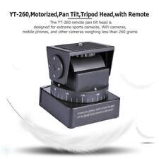 Universal Motorized Pan Tilt Tripod Head Kit w/ Remote Control for Camera Phone