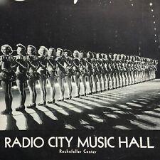1946 RADIO CITY MUSIC HALL vintage souvenir program SHOWPLACE with Irene Dunne