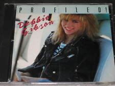 DEBBIE GIBSON - Profiled! - 18 Track Interview DJ PROMO CD! RARE! SEALED deborah
