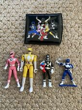 1995 SABAN Mighty Morphin Power Rangers WALLET and TOYS Lot