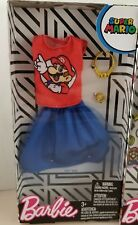 Barbie Super Mario Bros Barbie Doll Fashion Pack  Nintendo