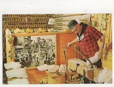 Hollands Wooden Shoe Factory Holland Michigan USA Vintage Postcard 712a