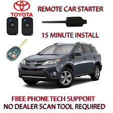 2016 2017 2018 TOYOTA RAV4 REMOTE START ONLY 2 WIRES TO SPLICE REGULAR KEY ONLY