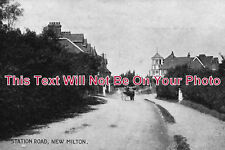 HA 406 - Station Road, New Milton, Hampshire - 6x4 Photo