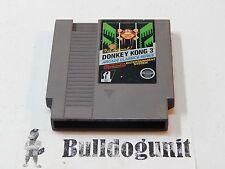 Donkey Kong 3 III NES Nintendo Game Cartridge
