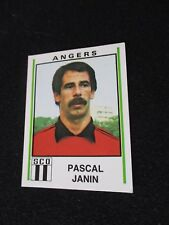 TISIOT AAJ.BLOIS VIGNETTE PANINI FOOTBALL 81 STICKER 1981 N°465 DEWILDER
