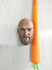 1/6 Soldier Model A-20 Male Head Sculpture Bearded Mango Transformer Villain Toy