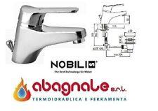 Miscelatore Nobili serie Italia rubinetto miscelatore per lavabo con piletta -