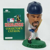 "MO VAUGHN - Boston Red Sox - Corinthian 1997 MLB Headliners 3"" Action Figure SLU"