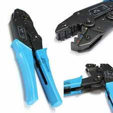 HS-30J Insulated Terminals Ratchet Crimping Plier AWG 22-10 0.5-6.0mm² Cutter