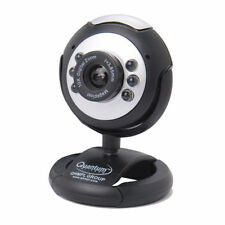 QHMPL PC WebCam Web Camera 25 MP USB 6 LED Lights Night Vision Mic QHM 495LM