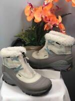 MERRELL Women's Winterlude Zip Waterproof Snow Boot in Gray Sz US 7.5/ EU 38