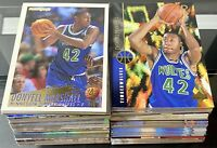 HUGE 1994-95 Donyell Marshall Rookie Lot Of 176! Upper Deck NBA Hoops Topps + TI