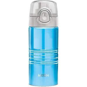 New Milton Vogue 500 Stainless Steel Water Bottle, 500 ml, Blue
