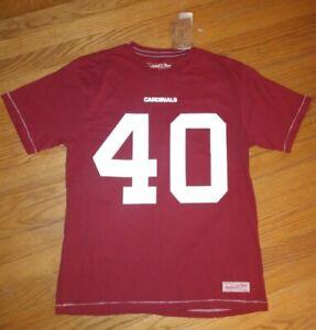 Mitchell & Ness Throwbacks #40 Pat Tillman NFL Arizona Cardinals Shirt Large