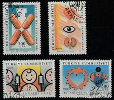 Turkije gestempeld 1988 used 2810-2813 - Gezondheid (2)