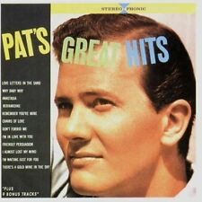 Pat Boone Pat's great hits (21 tracks, MCA) [CD]