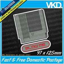 NES Blow Me Sticker/Decal - JDM DRIFT JAPAN TURBO SNES NINTENDO FUNNY RETRO 8BIT