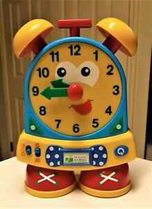 The Learning Journey Telly The Teaching Time Clock, Primary Colors Learning Tool