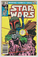 VINTAGE ORIGINAL Star Wars Marvel Comic Book # 68 Feb 1983 Mandalorian Boba Fett