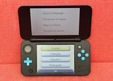 Nintendo 2DS XL - Black/Turquoise - Handheld - Video Game Console