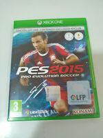Pes 2015 Pro Evolution Soccer - Set Xbox One Ausgabe Spanien Pal - 3T