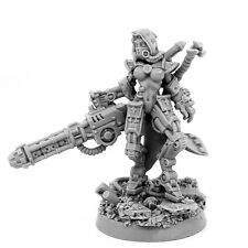 28mm scale MECHANIC ADEPT ERADICATOR WITH GRAVI-CANNON