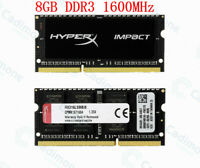 Pour Kingston HyperX 8 Go 16 Go 32 Go 1600 MHz DDR3L PC3L-12800S SO-DIMM RAM Lot