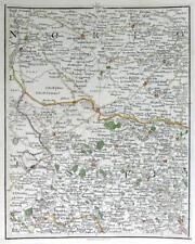 NORFOLK  SUFFOLK IPSWICH THETFORD  NEEDHAM  JOHN CARY GENUINE ANTIQUE MAP  c1794
