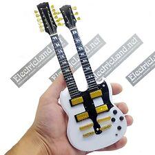 Mini Guitar scale 1:4 EAGLES Don Felder double neck miniature gadget collectible