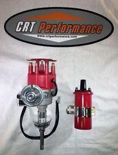CHRYSLER Small Block 273-318-340-360 SMALL Cap RED HEI Distributor + 45K COIL
