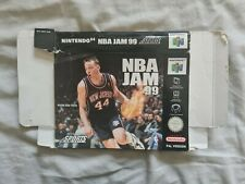 NBA JAM 99 1999 Nintendo 64 N64 PAL version original cardboard box