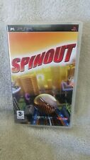 Spinout. Sony PSP. complete. 2007. Vgc .