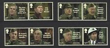 2018 GB QEII ROYAL MAIL DAD'S ARMY COMMEMORATIVE STAMP PAIRS MNH