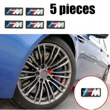 M power  Performance Badge Sticker Emblem Decal For BMW M Sports Alloy Wheel