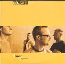BLOF - Hier / Duister 2TR CDS 2000 POP ROCK / DUTCH