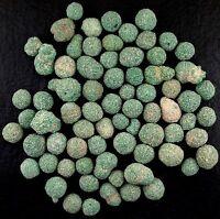 10 Grams Malachite Natural Puff Ball Sphere Round Specimen Gemstone Gem Crystal