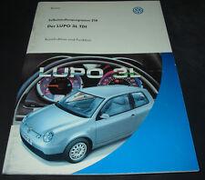 SSP 218 VW Lupo 3L TDI Konstruktion Funktion Selbststudienprogramm Mai 1999