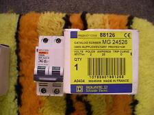 Square D Mg24526 Circuit Breaker C60N 2-Pole 480/277 25 Ampres