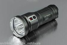 Jetbeam DDR30 Rechageable Digital Display LED Flashlights - w/3x 18650 batteries