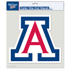 "ARIZONA WILDCATS LOGO 8""X8"" COLOR DIE CUT DECAL BRAND NEW FREE SHIPPING WINCRAFT"
