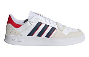 Adidas Breaknet Plus Shoes Trainers Leather Upper Stylish Footwear Unisex Adults