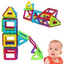 62 Pcs Magic Magnetic Building Blocks Educational Toys Set Gift for Kids Toddler