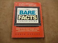 The Bare Facts Video Guide: Where to Find Your Fav