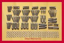 Harley Davidson V-Rod stainless steel conicle bolt kit motor engine cover 178pcs